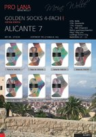 "Pro Lana Golden Socks 4-fach ""Alicante 7"""