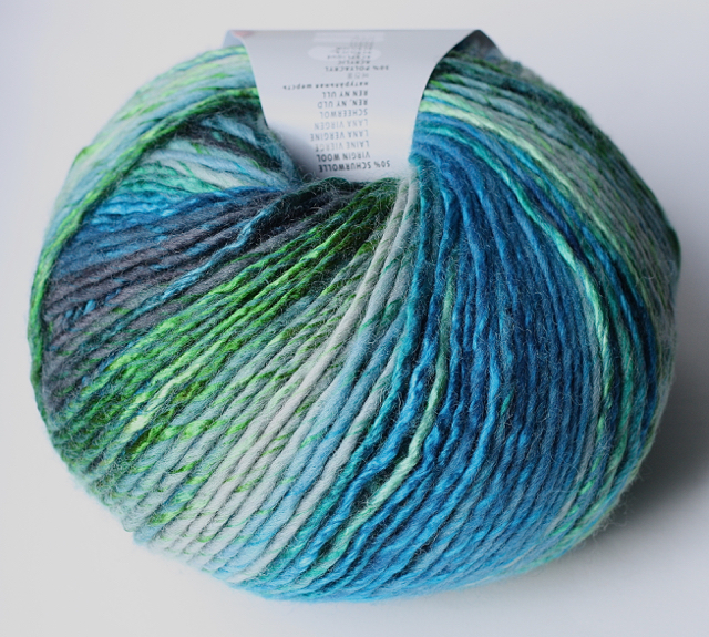 200g Wolle Lang Yarns Mille Colori Big 0035
